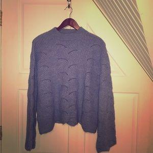 Periwinkle Mango Sweater